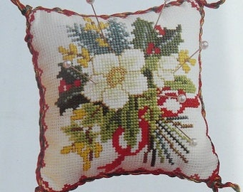 CSI 602 Posy Cross Stitch Pin cushion kit