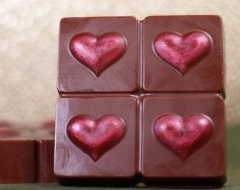 Hearts & Chocolate Soap Bar