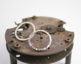 Earrings - Sterling Silver - Circle