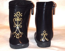 """Ready to ship today! 18"""" Doll Boots just like the ones Anna wore in Frozen"""