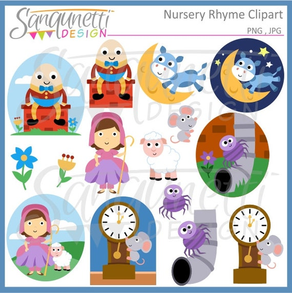 clipart pictures of nursery rhymes - photo #3