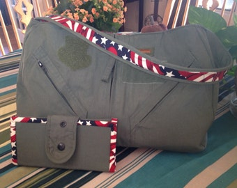 Matching Military Purse and Wallet