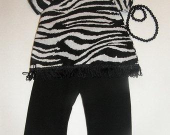 Zebra doll pantsuit