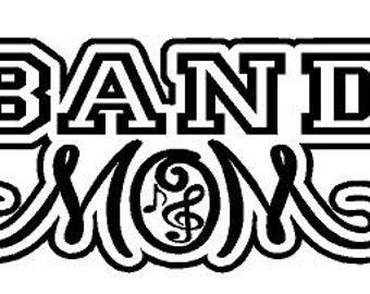 Band Mom Decal