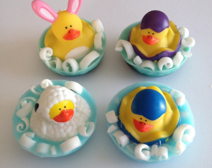 Easter Rubber Ducky Scented Soap