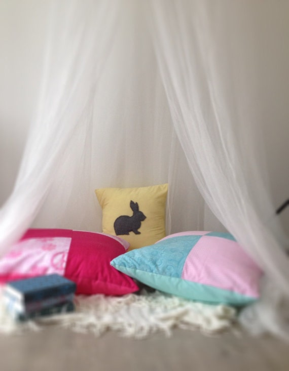 Kids floor pillow perfect for reading nook or by Theavocadopear