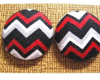 Chevron Snazzy Buttons