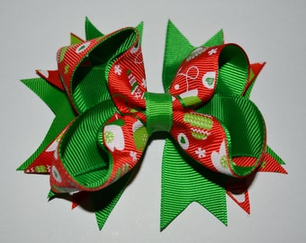 Winter Mittens Bow