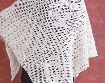 AFTERNOON TEA SHAWL