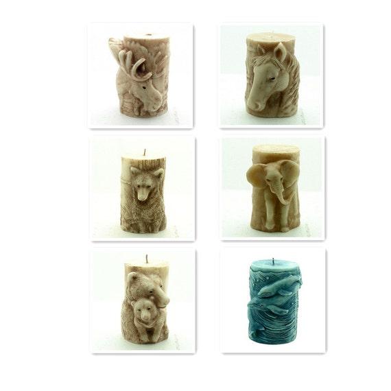 Nicole Animal Shape Candle Mold Soap Silicone Mold