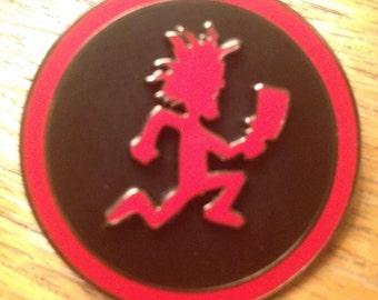 Hatchetman Spinner Hat Pin  Juggalo ICP Wicked Clowns. Spin Yo HatchetMan. Juggalo Pin. SlabLab Pins