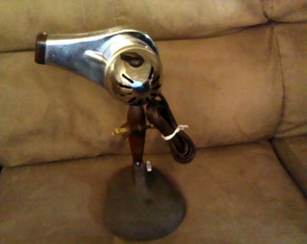 Retro Hand-held Chrome Hair Dryer