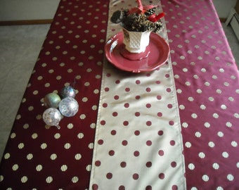 """Dots on Your Table 13"""" x 56"""" Runner"""