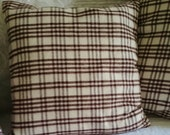 Pillow cover, throw pillow  trendy, cozy, comfortable, soft... for a warm atmosphere, cushion cover insert sold apart