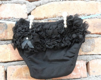 Ruffle Baby Bloomers - Chiffon Ruffle Bum - Great Photo Prop - Other Colors Available
