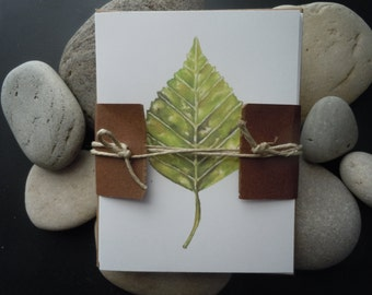 Lakeshore Birch  / Watercolor Note Cards