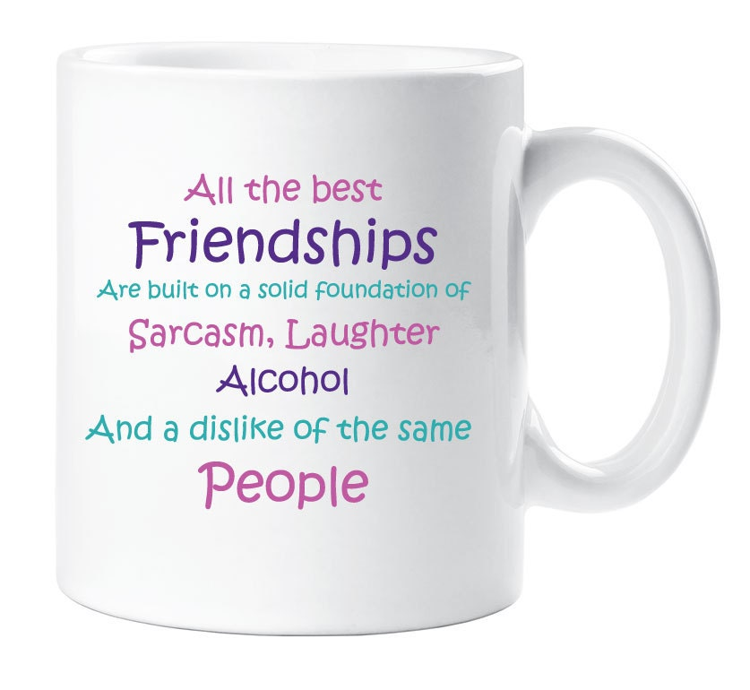 Best Friend Birthday Gifts Amazon Co Uk: Best Friends Mug Friendship Novelty Cup Quote Funny Gift