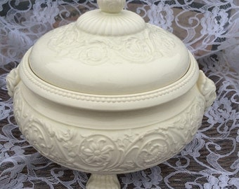Wedgwood Patrician Footed Casserole