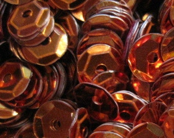 Metallic Sequins - 6mm or 8mm - 25 grams Y13