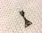 Horcrux Symbol Knit Minder/Planner Charm - Medium