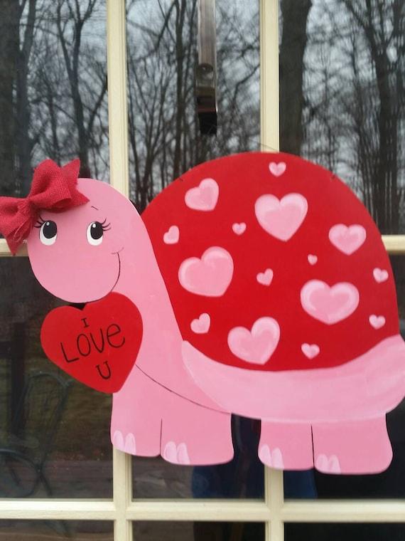 Valentine Door Hanger Turtle Door Hanger