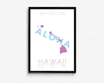 Say hello in Hawaii