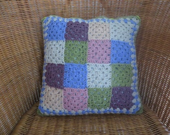 Granny Square cushion cover/Cushion cover