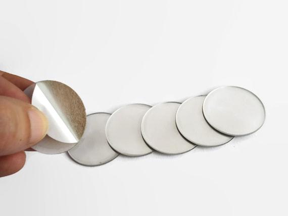 Ensemble de 6 bricolage petit rond acryliques miroirs miroirs for Petits miroirs ronds