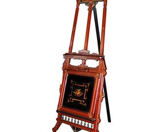 2988 19th C. American Victorian Renaissance Revival Easel