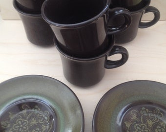 Lot of 12 FRANCISCAN MADEIRA Cups and Saucers