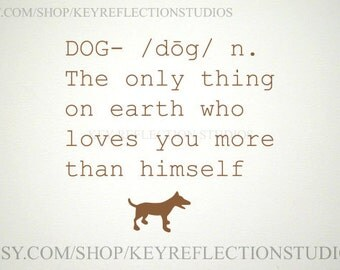 Dog Definition Wall Decal
