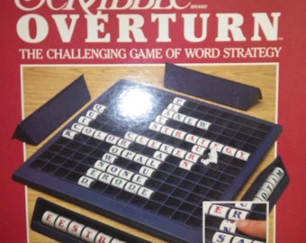 SCRABBLE OVERTURN the challenging game of word strategy