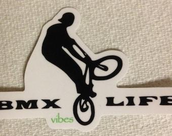 BMX Life STICKER vibes