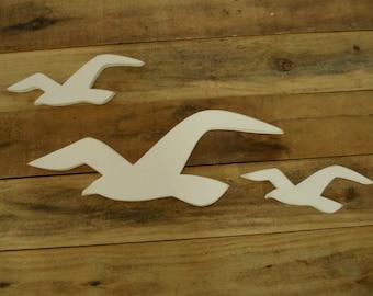Seagull Sign, Primitive Seagull, Wood Seagull, Seagull Trade Sign, Seagulls, Folk Art Seagulls, Seagulls
