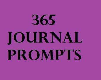 365 Journal Prompts