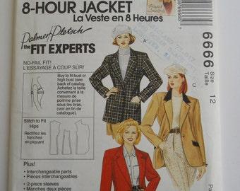 Vintage 90's McCall's Blazer Pattern / / Misses Size 12 Jacket