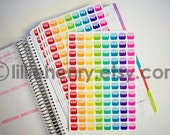 Social Media Stickers! 10 Different Styles, Set of 96, perfect for your Erin Condren Life Planner, calendar, Filoflax, Plum Planner!