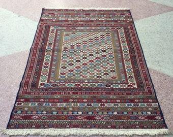 Beautiful Maliki Kilim handmade in Afghanistan