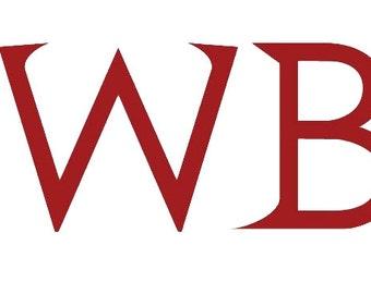 RWBY Decal Vinyl Logo