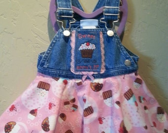 Cupcake denim dress