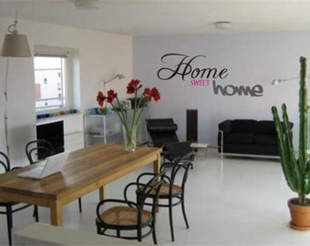 Wall sticker ' Home sweet Home '