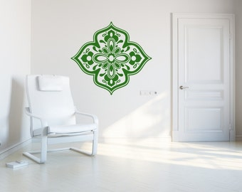 Bindi flower wall sticker