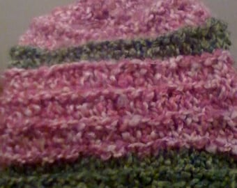 Chunky Knit Baby Hat for Winter 0-6 months