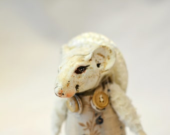"little dormouse. OOAK art doll 7"" by Elena Balaksheva by Dollena"