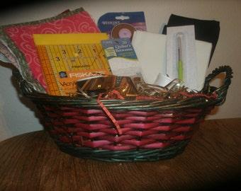 Quilting Gift Basket