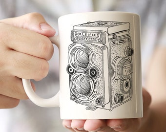 Rolleiflex Ceramic Mug