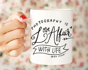 Photography Love Affair Ceramic Mug