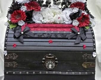 Gothic Wedding Card Box