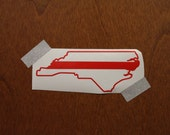 North Carolina Fire Fighter Decal