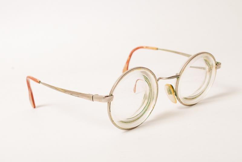 vintage eyeglasses lenses strong diopter ci284